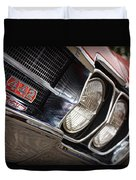Red 1966 Olds 442  Duvet Cover