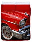 Red '57 Duvet Cover