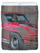 Red 65 Duvet Cover