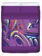 Red 8 Duvet Cover