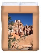 Red And White Rocks - Bryce Canyon Duvet Cover