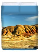 Red And Yellow Painted Hills Duvet Cover