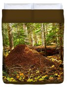 Red Ants Nest Duvet Cover