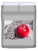 Red Apple Duvet Cover