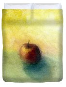 Red Apple No. 4 Duvet Cover