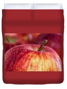 Red Apple Duvet Cover