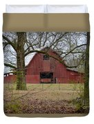 Red Barn Series Picture A Duvet Cover