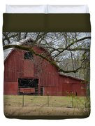 Red Barn Series Picture E Duvet Cover