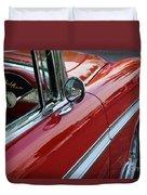 Red Belair Duvet Cover