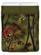 Red Berries Duvet Cover