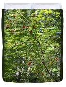 Red Berries Duvet Cover
