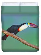 Red-billed Toucan Duvet Cover