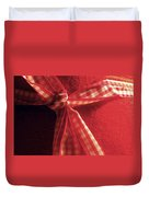 Red Bow Duvet Cover