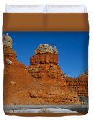 Red Canyon Dixie National Forest Duvet Cover