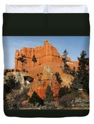 Red Canyon - Scenic Byway 12 Duvet Cover