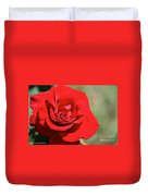 Red Carpet Rose Duvet Cover