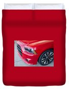 Red Charger 1508 Duvet Cover