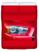 Red Charger 1521 Duvet Cover