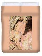 Red Cliff Duvet Cover