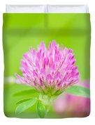 Red Clover Duvet Cover