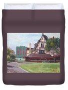 Red Coach Inn-restaurant Duvet Cover