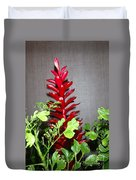 Red Cone Ginger - No 1 Duvet Cover
