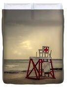 Red Cross Lifeguard Duvet Cover