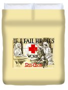 Red Cross Poster, C1918 Duvet Cover
