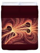 Red Current Duvet Cover