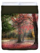 Red Dawn Duvet Cover