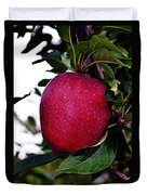 Red Delicious Duvet Cover