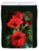 Red Delight Duvet Cover