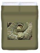 Red Diamond Rattlesnake 3 Duvet Cover