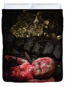 Red Doll Duvet Cover