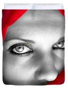 Red Dream Duvet Cover