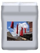 Red Dress Lineup  Duvet Cover