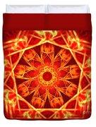 Red Dynasty Duvet Cover