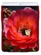 Red Elegance Duvet Cover