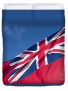 Red Ensign Duvet Cover