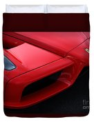 Red Enzo Duvet Cover