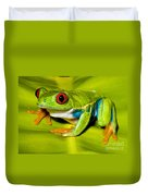 Red-eyed Treefrog Duvet Cover