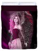 Red Fairy Duvet Cover