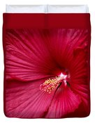 Red Flower 2 Duvet Cover