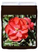 Red Flower I Duvet Cover
