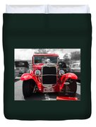Red Ford Ute Duvet Cover