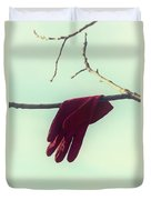 Red Glove Duvet Cover