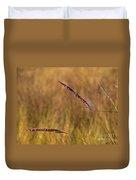 Red Grass Duvet Cover