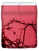 Red Haze Duvet Cover