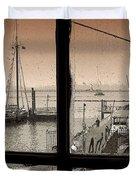 Red Hook Window Duvet Cover