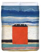 Red House, 1932 Oil On Canvas Duvet Cover